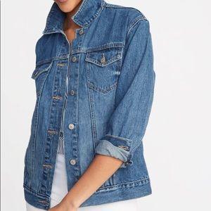 Boyfriend oversized jean jacket